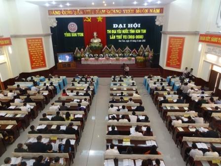 Ủy ban nhân dân tỉnh Kon Tum ban hành Kế hoạch tổ chức Đại hội Thi đua yêu nước tỉnh Kon Tum lần thứ VIII (2020-2025)