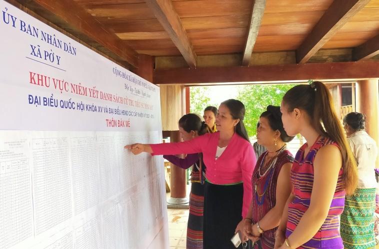 Kon Tum: Tăng cường tuyên truyền bầu cử vùng dân tộc thiểu số