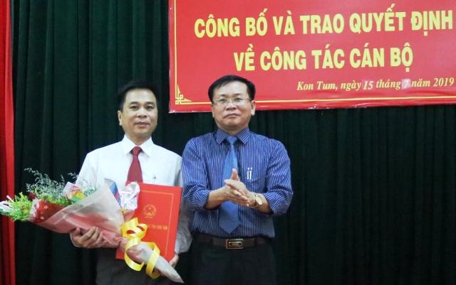 Đồng chí Nguyễn Đức Tỵ được bổ nhiệm giữ chức Phó Chánh Văn phòng UBND tỉnh